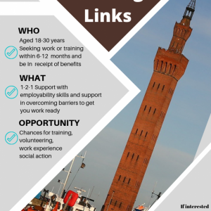 Youth Working Links Poster